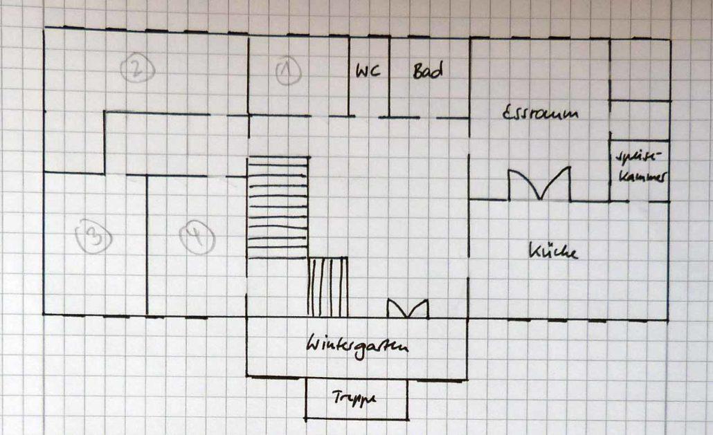 Grundriss vom Haus der Familie Tulpe_unten