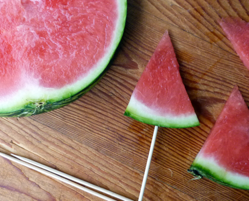 Eis selber machen - Meloneneis