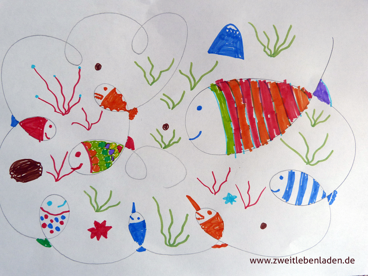 Fische zeichnen