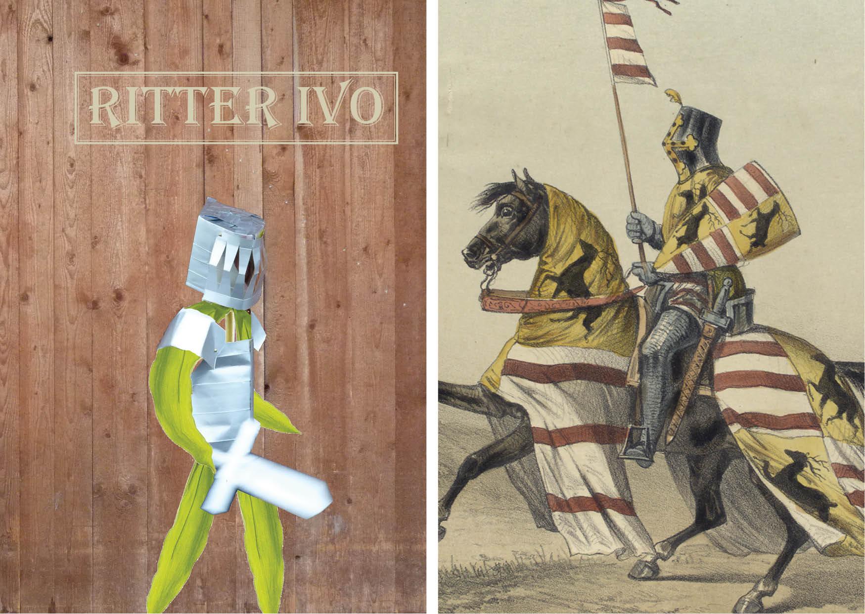 Ritter-Kostüm für Kinder - Ritterrüstung aus Tetra Pak vom Zweitlebenladen